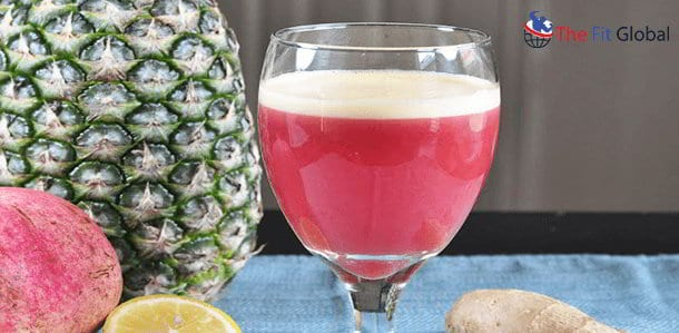 Pomegranate Pineapple Lemon juice