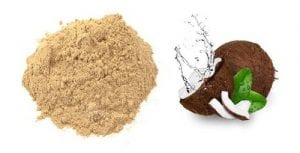 Sandalwood and coconut water face pack