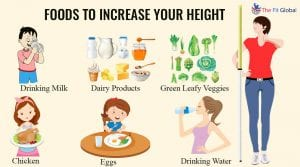 Height increasing exercises