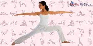 Yoga Warrior Pose II