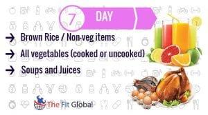 Day 7 GM diet Plan
