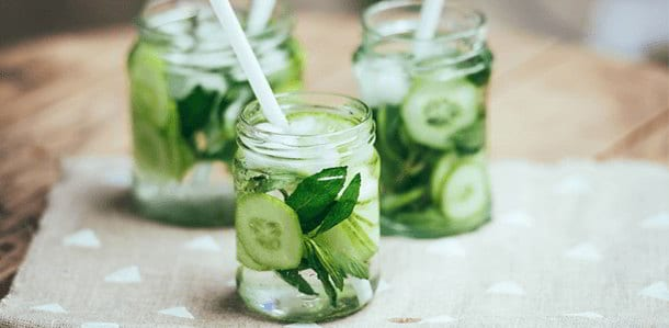 Cucumbers hydrating agent