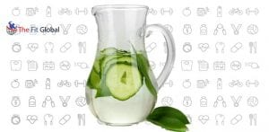 Preparation of Cucumber Water