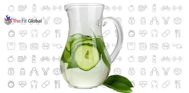 Preparation of Cucumber Water