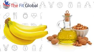 Banana and almond oil