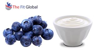 Blueberry peel with Yogurt