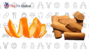 Orange peel and sandalwood pack