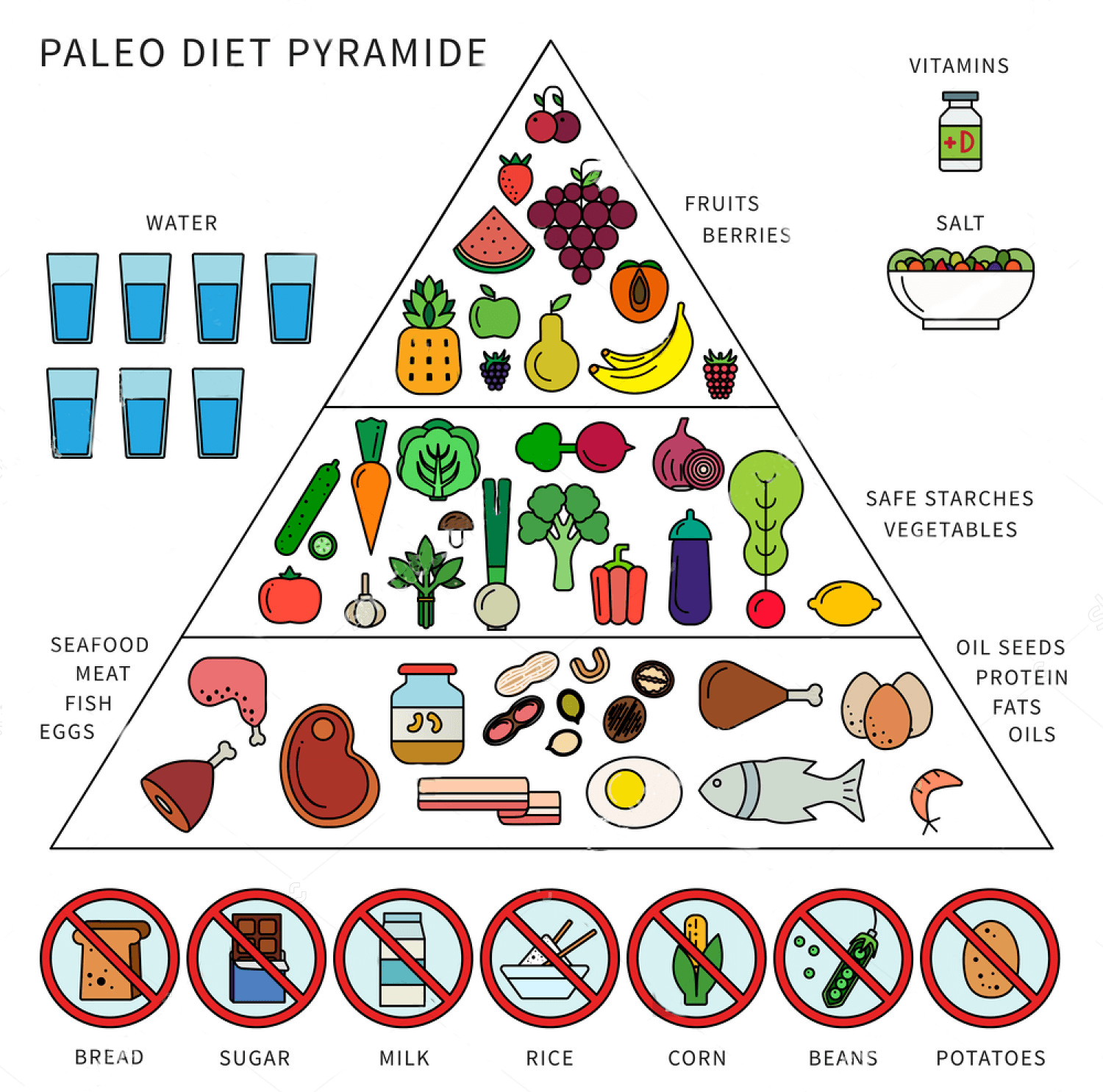 Paleo Diet Plan Pyramid