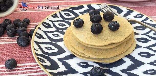 Quinoa Chia Pancakes
