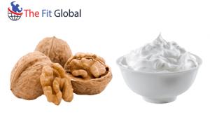 Walnut and milk cream