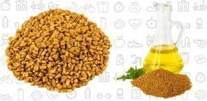 Fenugreek, Mustard Oil, and Methi