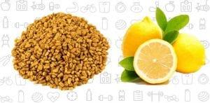 Fenugreek and Lemon