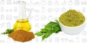 Henna with Mustard Oil