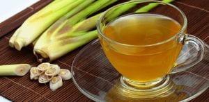 Lemon grass and ginger green tea