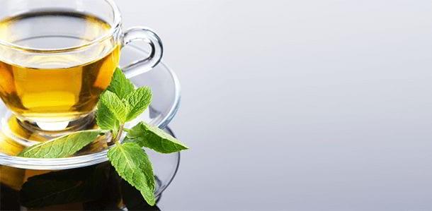 Mint-Green Tea