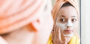 Guidelines for using a homemade face pack