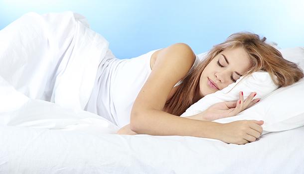 Correct sleep posture