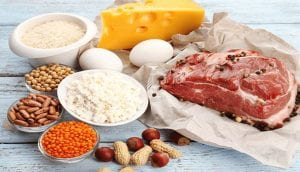 High Protein With Calories