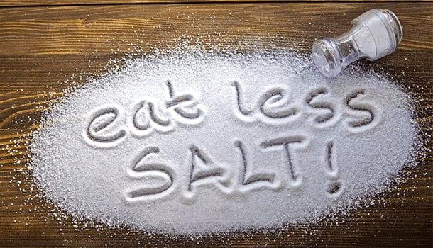 Reduce The Salt Intake