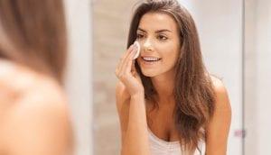 Remove Makeup At Bedtime