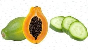 Cucumber and Papaya Pack