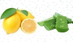 Lemon and Aloe Vera