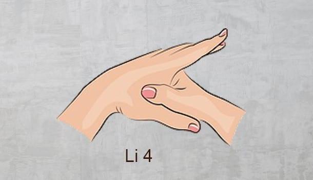 Li 4 acupressure point