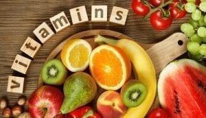 Vitamins A, C, and E