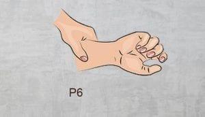 p6 acupressure point