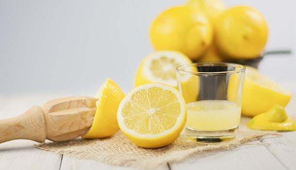 Lemon juice for summer