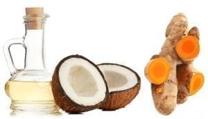 Turmeric and coconut oil