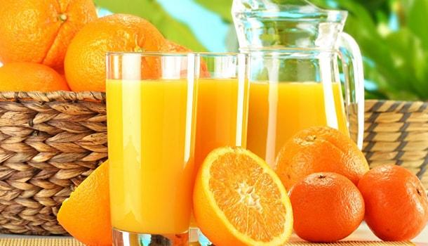 orange juice for summer