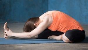 Head to the knee pose or the Janu Sirsasana