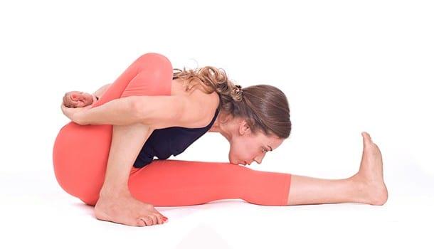 Spinal twist or the Marichyasana