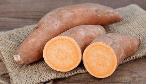 Sweet potato for hair growth