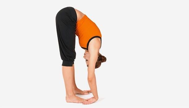 Upward forward bent or the Padangusthasana