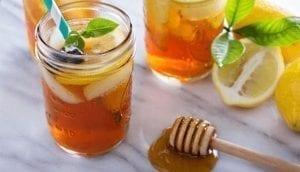 Honey-lemon water