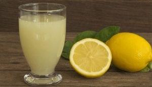 Lemon and soda