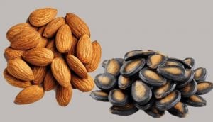 Almonds and Watermelon Seeds
