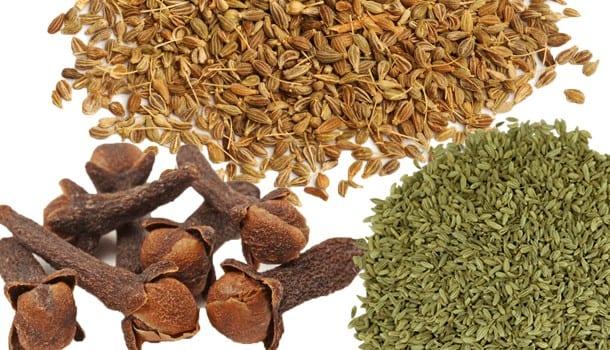 Funnel Seeds & cloves