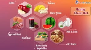 A Healthy Diet and Fitness Tips