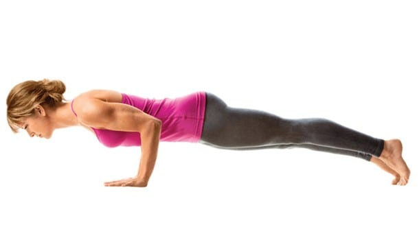 Chaturanga Dandasana (Four Limbed Star Pose)