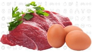 Eggs and Meat