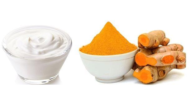 Yogurt And Turmeric
