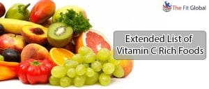 Usefulness of Vitamin C Rich Foods Importance of Vitamin C Out of All