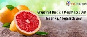 Grapefruit Diet is a Weight Loss Diet