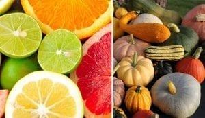 Citrus and Cucurbitaceae Foods
