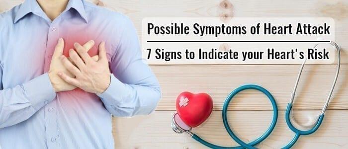 Sympton of Heart Attack