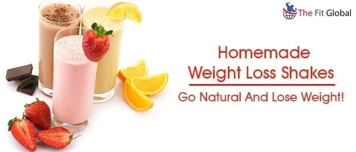 Homemade Weight Loss Shakes