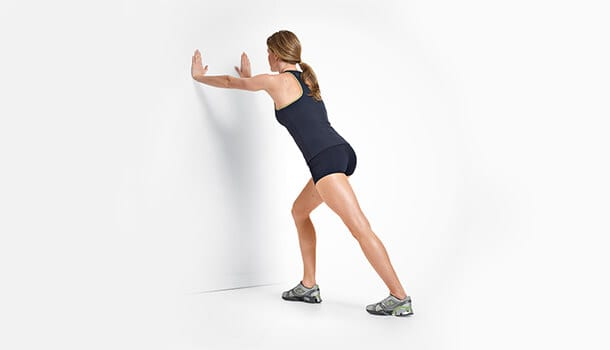 Standing Wall Stretch